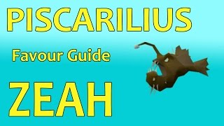 Zeah Guide | Getting 100% Favour Piscarilius House | Fastest Method
