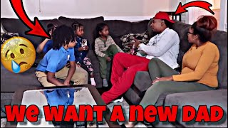 WE WANT A DIFFERENT DAD PRANK ON HUSBAND!!! (Emotional)