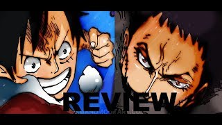 One Piece Chapter 877 Review - Katakuri vs Luffy! He has a similar DF!?