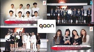 Gaon Chart Music Awards 180214 Winners (EXO, BLACKPINK, TWICE, Wanna One...)