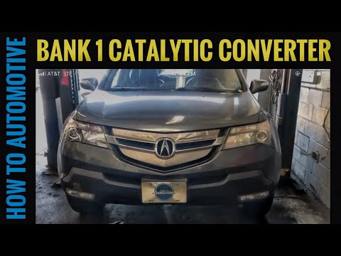 How to Replace Bank 1 Catalytic Converter on a 2007-2013 Acura MDX