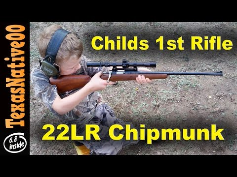 Childs First Rifle, the 22 Caliber Chipmunk