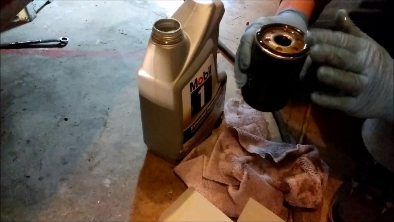 jag oil change and fuel filter swap [ 1280 x 720 Pixel ]