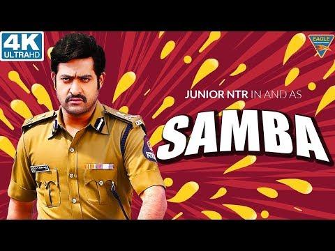 SAMBA  4K Hindi Dubbed Full Length Movie    Jr. NTR, Bhumika Chawla, Genelia    Eagle Hindi Movies