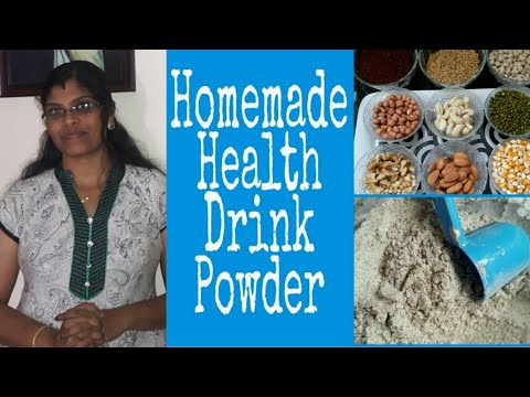 Homemade health drink powder for all age