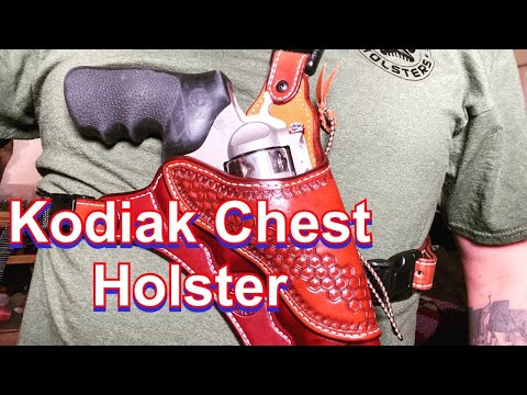 New Leather Chest Holster For 454 Revolver: Just In Case Holsters
