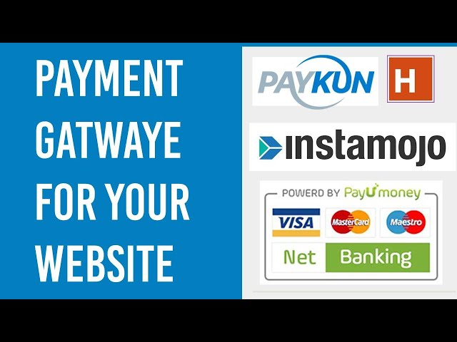 Payment gateway for your website in india 2020