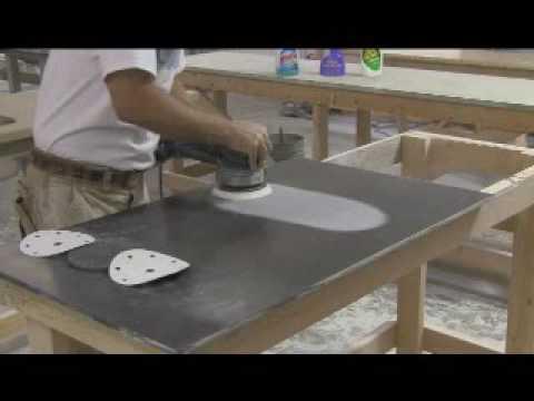 countertop repair @ www.customsurfacestn.com - YouTube