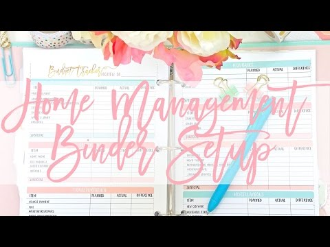 My Home Management Binder Setup & Flip Through!