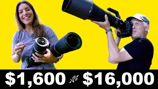 The BEST wildlife lenses! Canon 600 & 800mm f11 review with Canon R5!