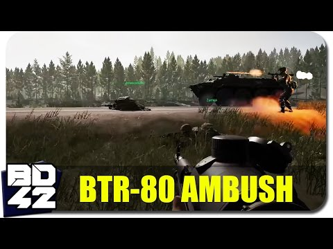 Squad v7.1 ► BTR-80 Convoy Ambush (Round Highlight)
