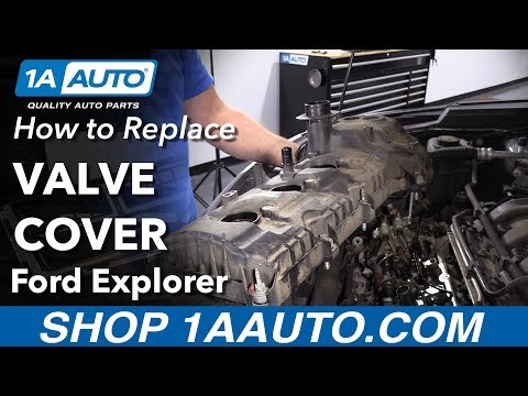 How to Replace Valve Cover 11-19 Ford Explorer