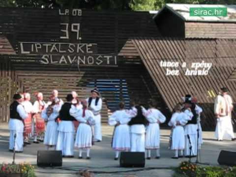 Međunarodni folklorni festival, 39. Liptálske slavnosti, Češka Republika, 2008.