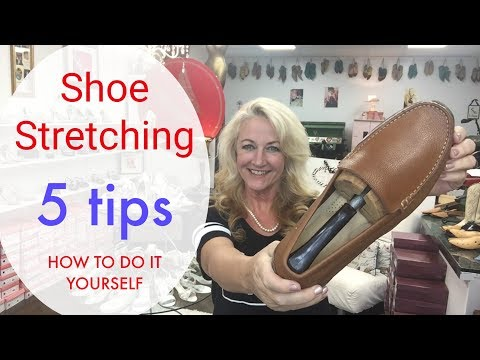 Shoe Stretching  5 Tips How To Do it at Home