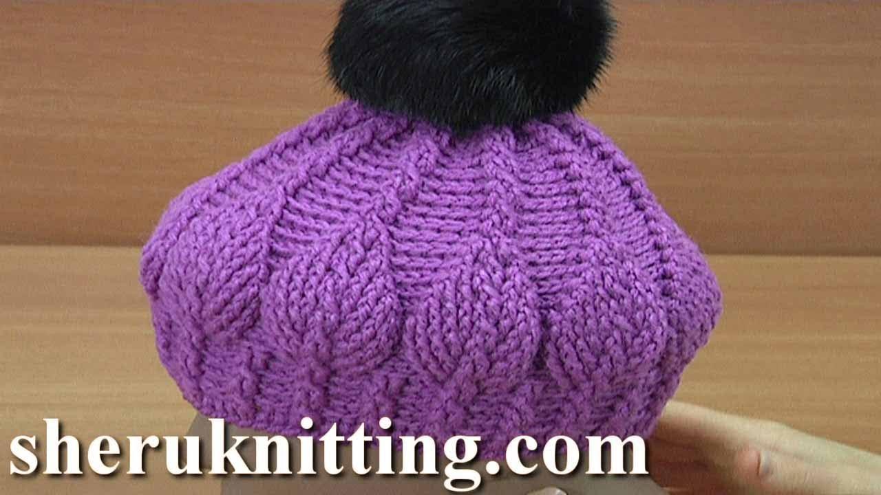 3D Leaf Crochet Hat Pattern 271 - YouTube 47cc046464c