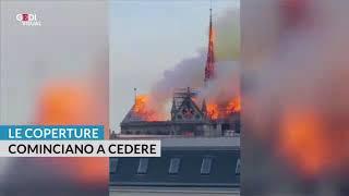 Parigi, incendio nella cattedrale di Notre-Dame: il videoracconto