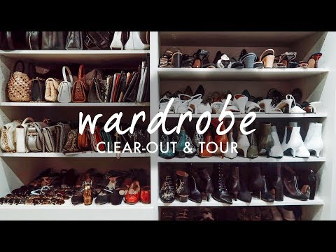 WARDROBE CLEAR OUT & TOUR | WE ARE TWINSET thumbnail