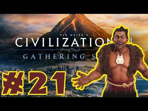 Let's Play - Civilization VI: Gathering Storm! - Maori / Deity - Part 21