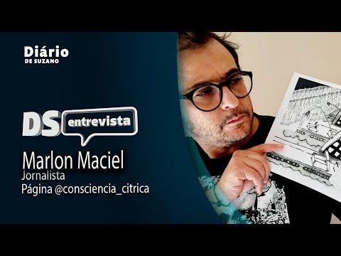 DS entrevista Marlon Maciel Jornalista Página @consciencia_citrica