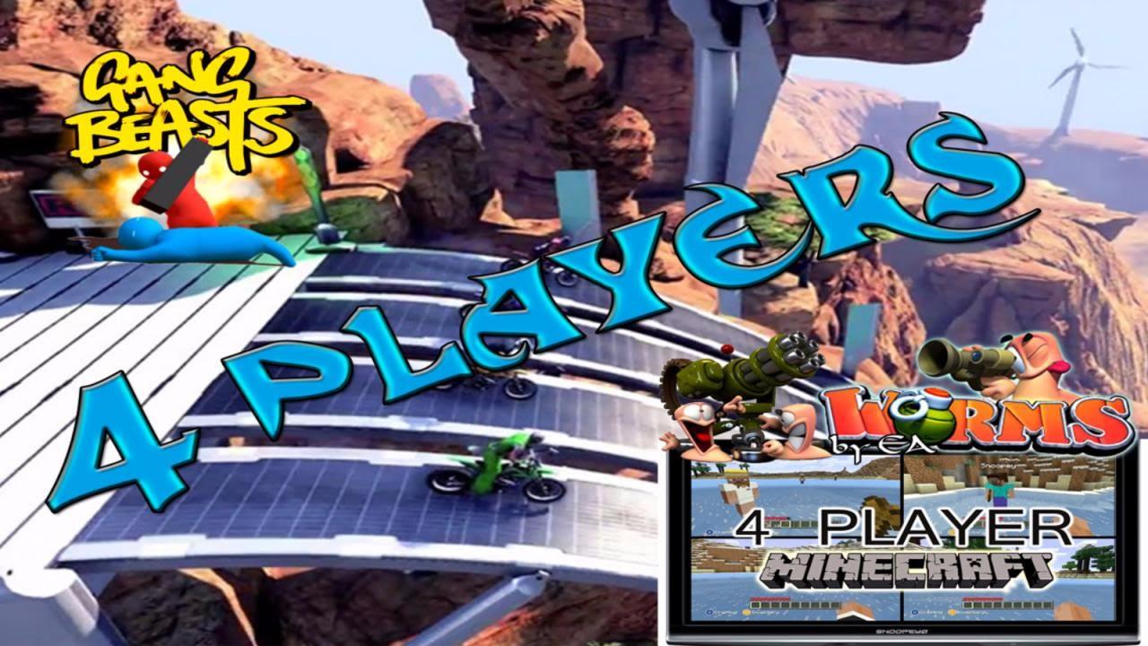 Juegos De 4 Jugadores Local Pc Youtube