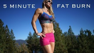 5 Minute Fat Burn Workout #94 - From Tahoe