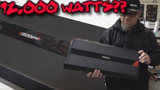 12,000 Watts? Testing the Soundigital Evo 12000.1D Through the NEW SMD QR-1 Neo Magnet Terminals
