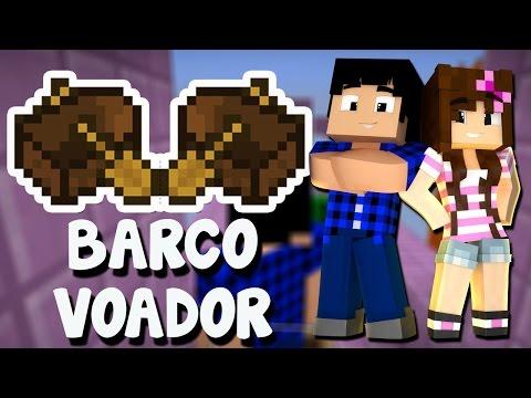 DESAFIO DO BARCO VOADOR - MINECRAFT 1.10! (Snapshot 16w21b)