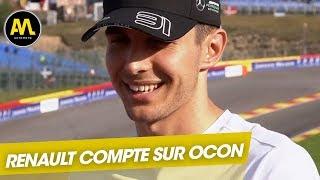 Esteban Ocon chez Renault : Les dessous d'un transfert