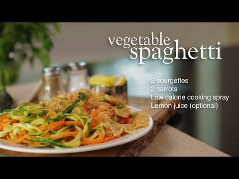Slimming World Vegetable Spaghetti
