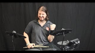 Yamaha DTX402K Electronic Drum Kit - First Look and Review