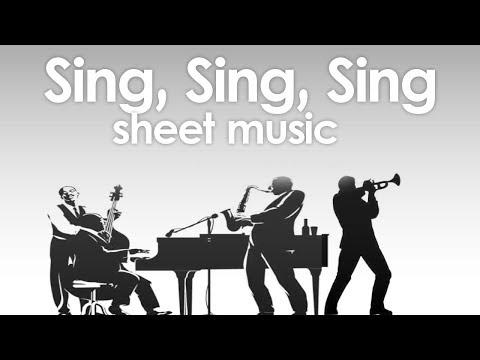 Sing, Sing, Sing - B. Goodman - Sheet music