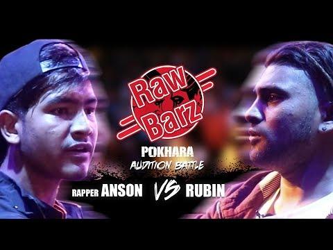 RAPPER ANSON VS RUBIN - RawBarz Rap Battle Audition Pokhara (New Nepali Rap Battle 2018)