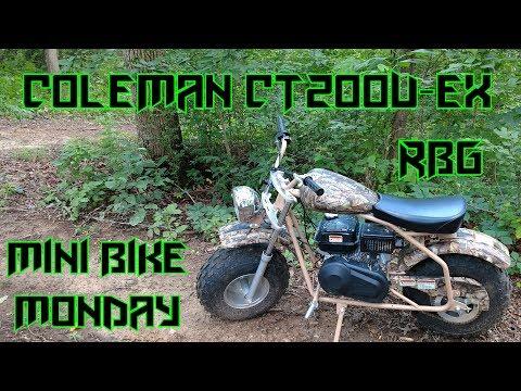 Coleman CT200U EX ~ Mini Bike Monday Ep 2