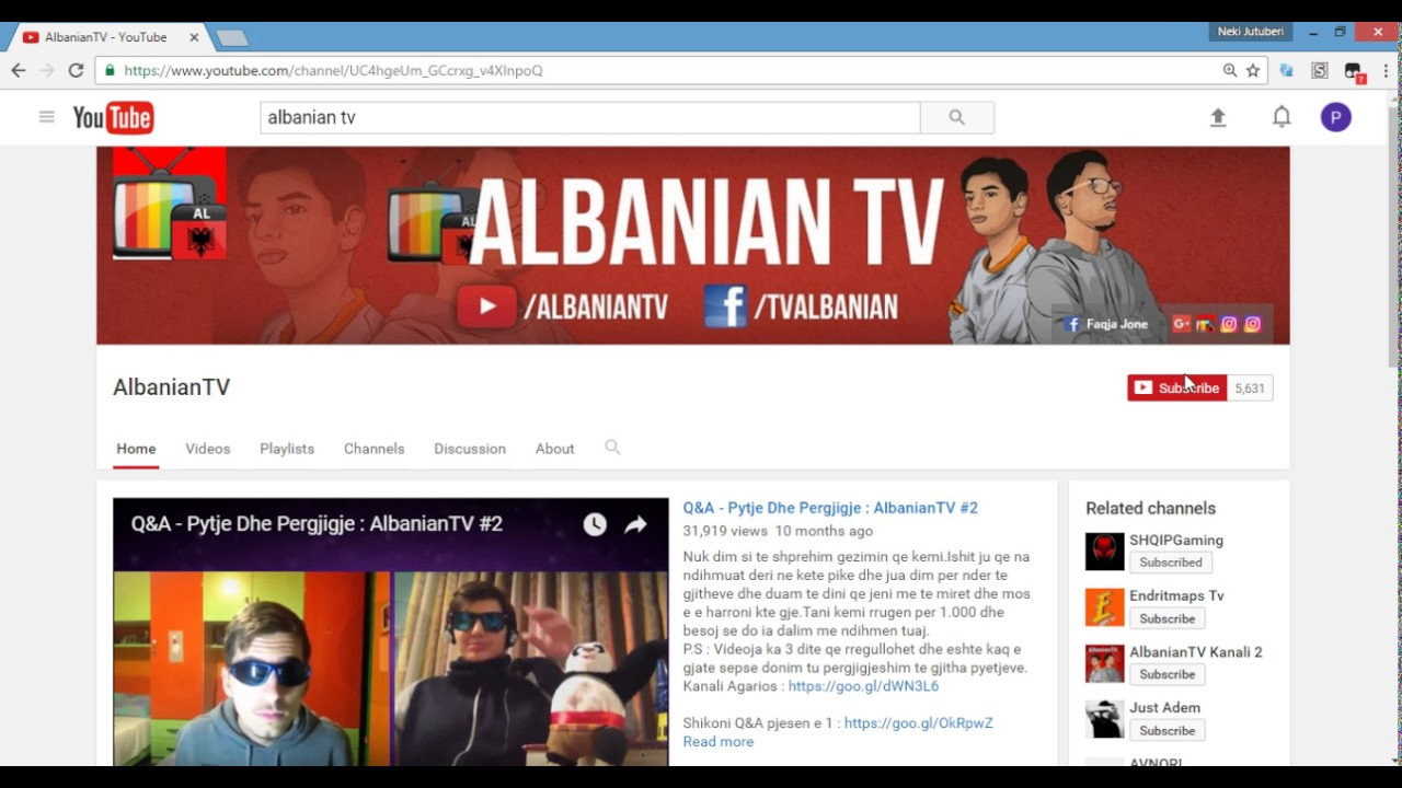 Subscribe-Albanian TV