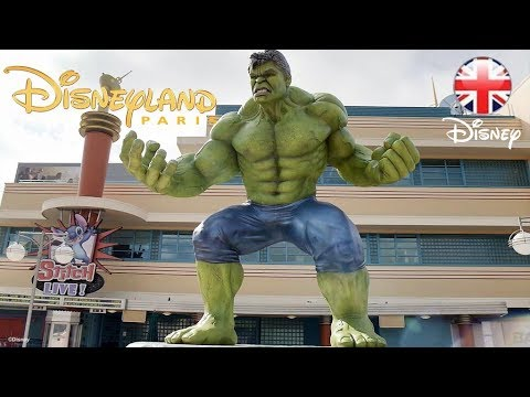 DISNEYLAND PARIS | Stars Attend The Marvel Summer of Super Heroes Launch! | Official Disney UK