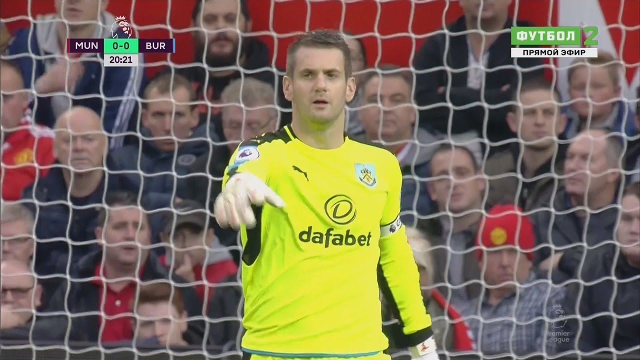 Tom Heaton vs Manchester United (Away) 2016-17 HD 720p - YouTube