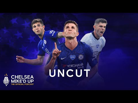 Christian Pulisic on Finding A Brand New Nickname & Modelling For GQ | Chelsea Mike'd Up Uncut