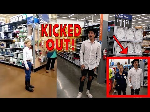 WALMART YODELING KID GROWN UP!! (KICKED OUT)