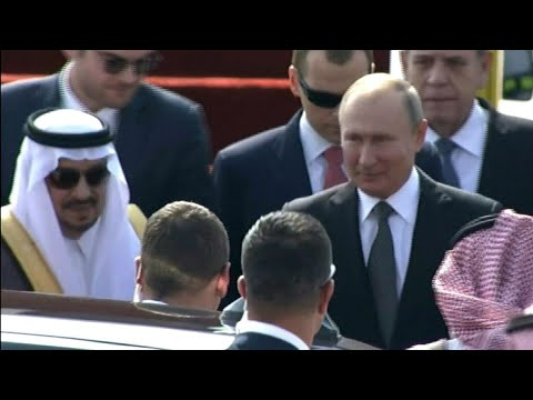 Russian President Putin Arrives In Saudi Arabia | AFP