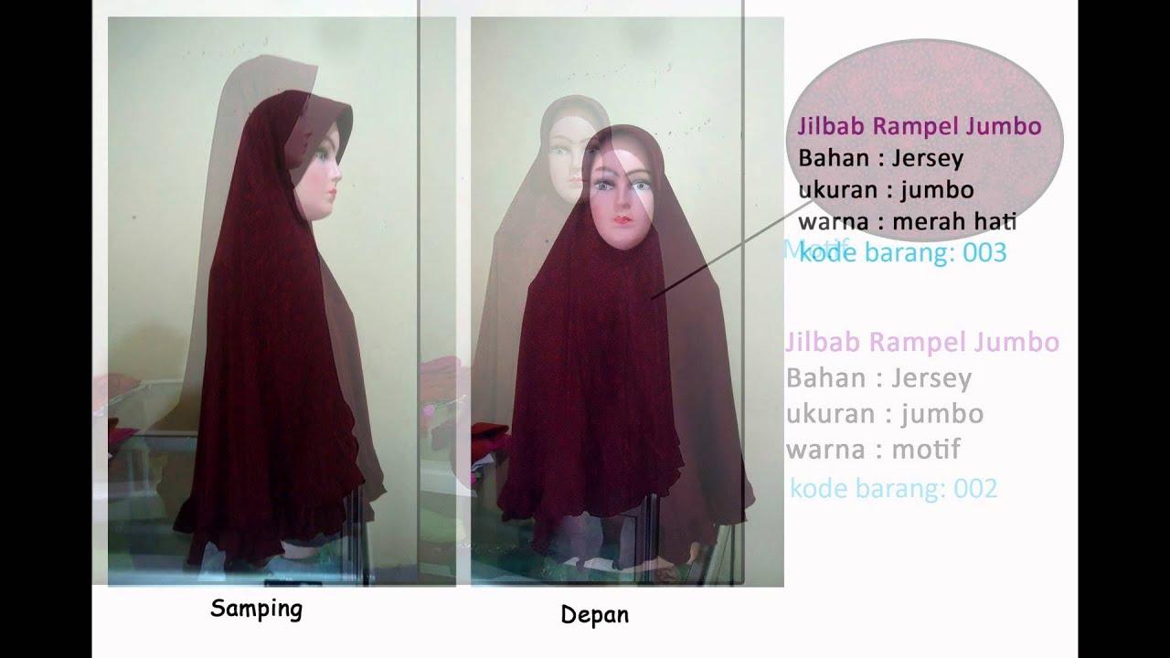 Model Jilbab Jersey Jumbo