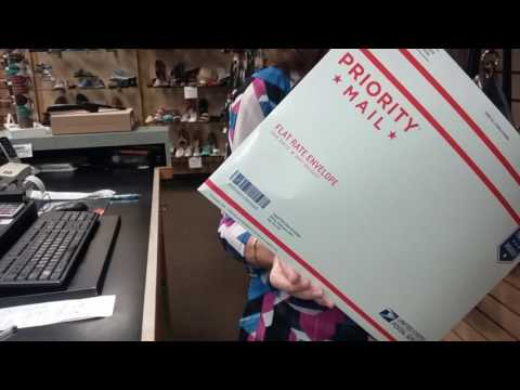 USPS Flat Rate Envelope Shipping How To