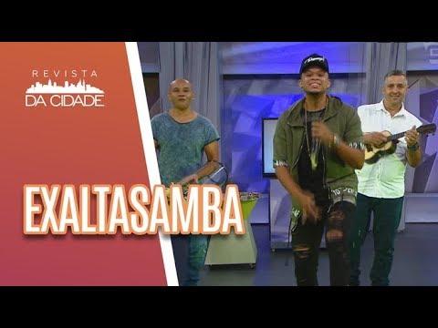 Música E Bate-papo Com EXALTASAMBA - Revista Da Cidade (26/04/18)