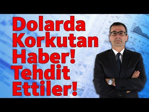 Dolarda Korkutan Haber! Tehdit Ettiler!