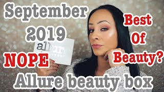 NOT the best of beauty! Allure box/September 2019 Video