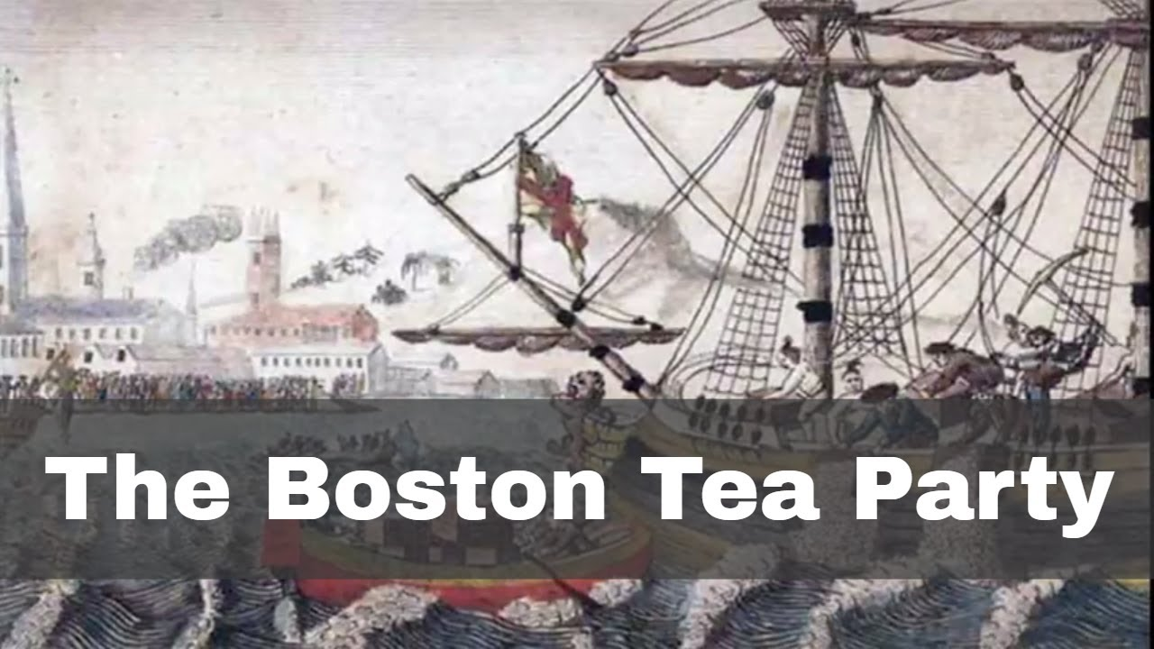 16th december 1773 the boston tea party throws a shipment of tea overboard youtube. Black Bedroom Furniture Sets. Home Design Ideas