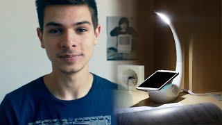Lampe qui recharge ton smartphone !