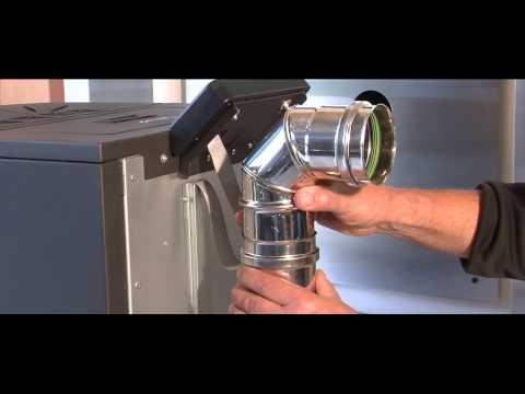 Alfaplam commo pellet 21kw 2 doovi - Installation d un poele a pellet ...