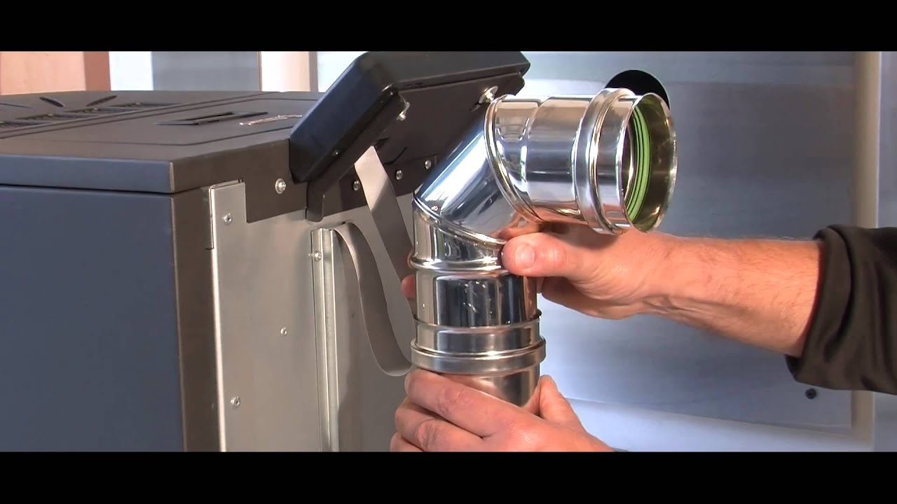 Installation d 39 un poele a granules pellets gevaudan youtube - Poele pour induction pas cher ...