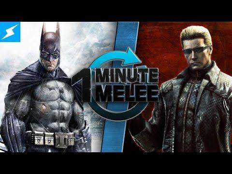 One Minute Melee - Batman vs Albert Wesker (DC Comics vs Resident Evil)