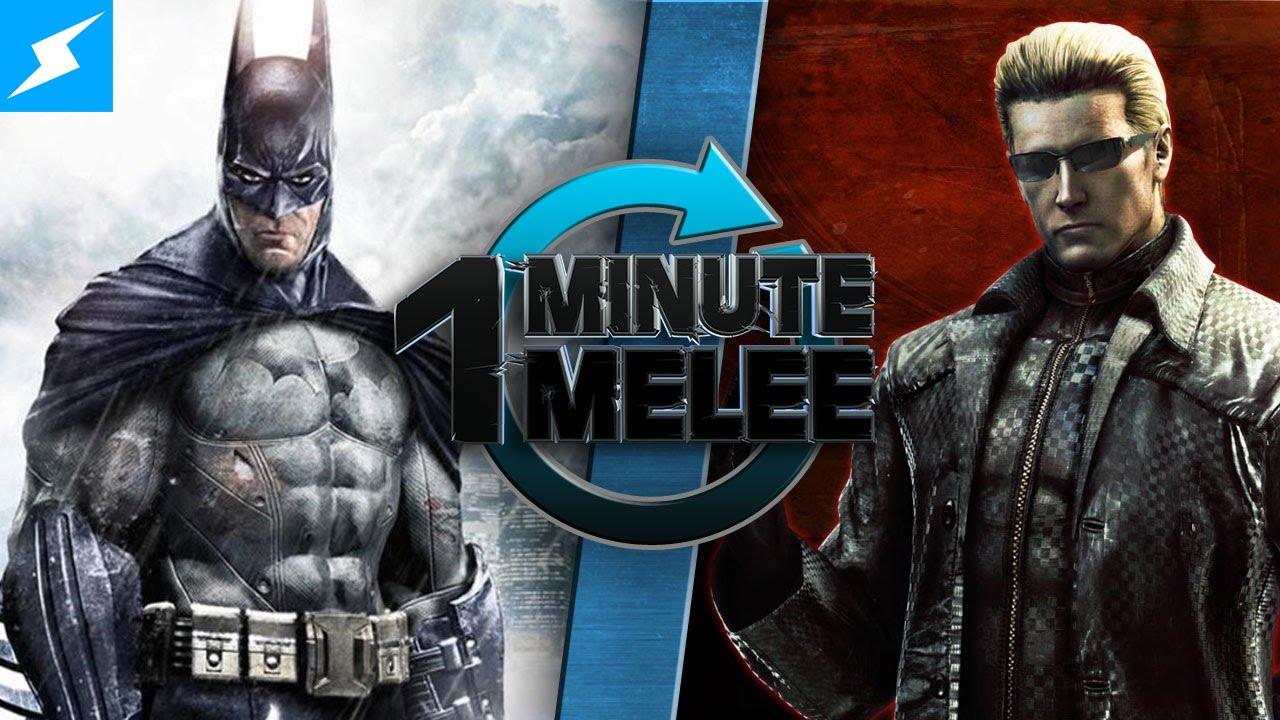 One Minute Melee Batman Vs Albert Wesker Dc Comics Vs